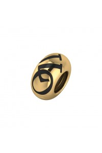 Endless Gold Plated Sterling Silver 'JLo Infinity' Bead Charm 3503
