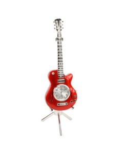 Miniature Electric Guitar Clock 9029