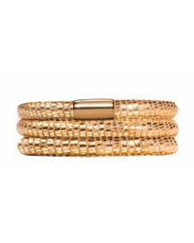 Endless JLO Gold Reptile Triple Bracelet 1051-57