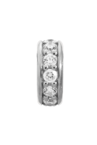 Endless Sterling Silver JLO 'Dreamy Dot' White CZ Bead 1200-4