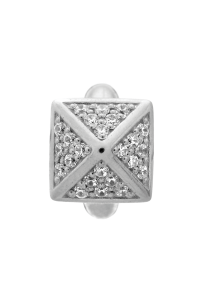 Endless Sterling Silver JLO 'High Rise' White CZ Bead 1225-2