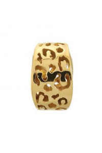 Endless Gold Plated Sterling Silver JLO 'Leopard Cut' Bead 1500