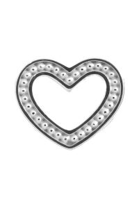 Endless Sterling Silver 'Heart Dots' Bead 41253