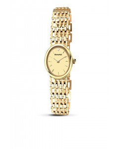 Accurist Ladies 9ct Gold Watch GD13223CH