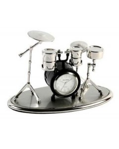 Miniature Drum Kit Clock 9078