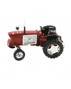 Miniature Tractor Mantel Clock 9236R