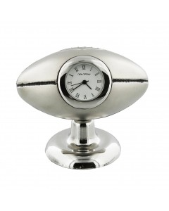 Miniature Rugby Ball Mantel Clock 9647S