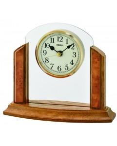 Seiko Glass Arch Mantel Clock QXG148B