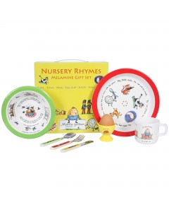 Martin Gulliver Nursery Rhymes 7 Piece Melamine Set
