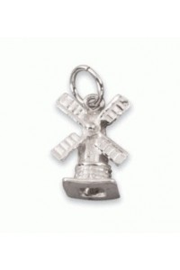 Sterling Silver Small Windmill Charm SC1000