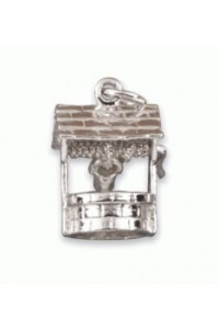 Sterling Silver Wishing Well Charm SC1404