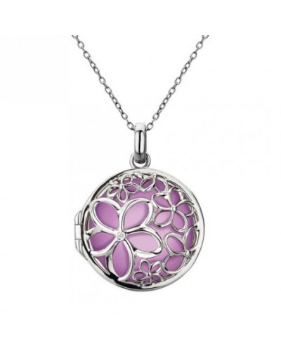 Hot Diamonds Sterling Silver 'Paradise' Medium Locket DP300