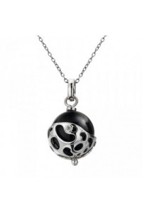 Hot Diamonds Sterling Silver 'Selene Orb' Pendant DP302