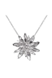 Hot Diamonds Sterling Silver 'Spring Dahlia' Pendant DP388