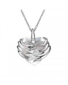 Hot Diamonds Sterling Silver 'Angel Heart' Pendant DP432