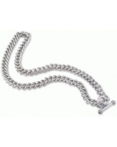 Hot Diamonds Sterling Silver Gents Heavy Curb Chain MN001