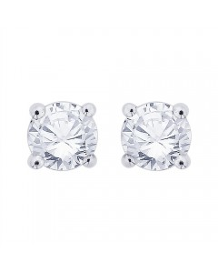 18ct White Gold 0.33ct Diamond Stud Earrings STUD33-18PCW