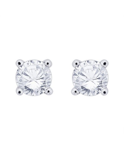 18ct White Gold 0.40ct Diamond Stud Earrings STUD40-18PCW