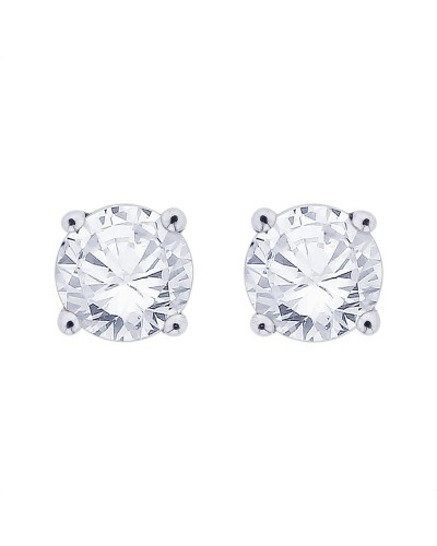 18ct White Gold 0.50ct Diamond Stud Earrings STUD50-18PCW