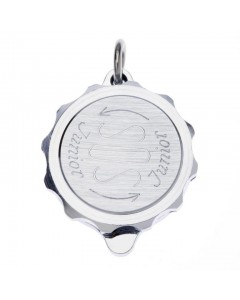 SOS Talisman Chrome Plated Junior Plain Pendant 221 198