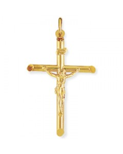 9ct Gold 41x28mm Plain Crucifix CR003