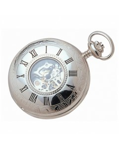 Woodford Half Hunter Skeleton Pocket Watch 1020