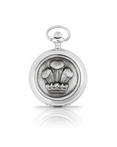 Woodford Full Hunter Prince of Wales Feathers Pocket Watch 4855/Q