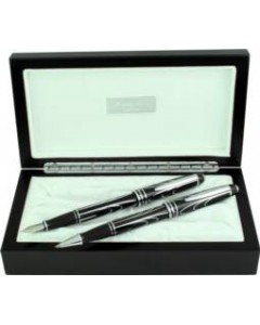 Autograph 'Galatic' Fountain & Rollerball Pen Set GALA