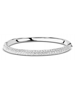 Ti Sento Sterling Silver Cubic Zirconia Bangle 2275ZI
