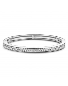 Ti Sento Sterling Silver Cubic Zirconia Bangle 2807ZI