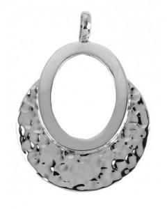 Tianguis Jackson Sterling Silver Hammered Pendant CP0687