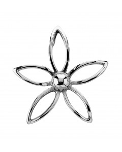 Tianguis Jackson Sterling Silver Flower Pendant CP0522