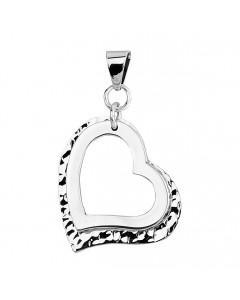 Tianguis Jackson Sterling Silver Heart Pendant CP0872