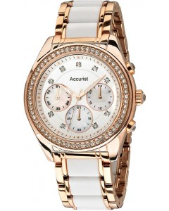 Accurist Ladies Chronograph Watch LB211W