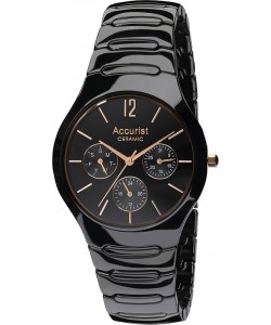 Accurist Gents Ceramic Watch MB990B