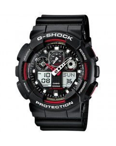Casio Gents G-Shock Watch GA-100-1A4ER