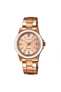 Casio Ladies Sheen Watch SHE-4512PG-9AUER