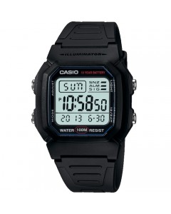 Casio Gents Illuminator Watch W-800H-1AVES