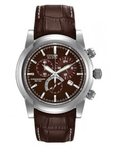 Citizen Gents Eco-Drive Chronograph Watch AT0550-11X