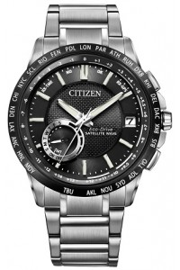 Citizen Gents Satellite Wave World Time GPS Eco-Drive Watch CC3005-85E