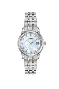 Citizen Ladies Eco-Drive Diamond Watch EW2390-50D