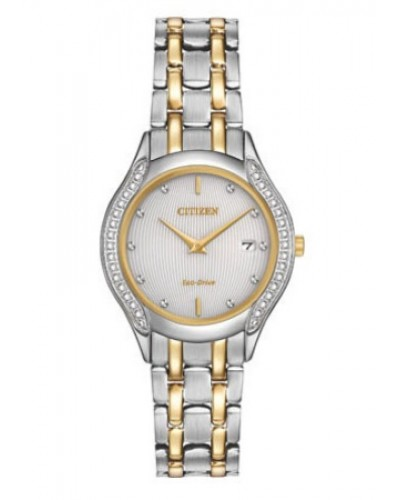 Citizen Ladies Eco-Drive Diamond Watch GA1064-56A