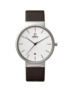 Obaku Gents Klar Mocha Watch V153GDCIRN
