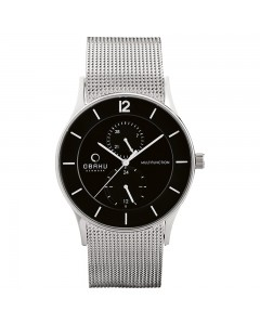 Obaku Gents Torden Onyx Watch V157GMCBMC