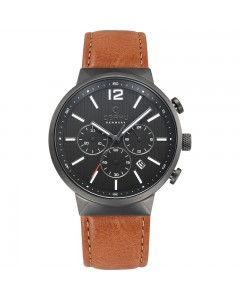 Obaku Gents Storm Guntan Chronograph Watch V180GCUURZ