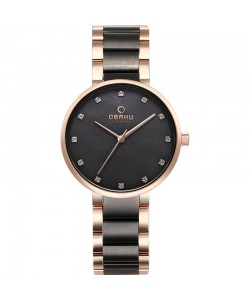 Obaku Ladies Glad Crepe Watch V189LXVJSJ