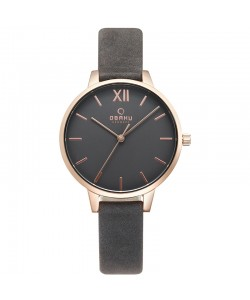 Obaku Ladies Liv Pebble Watch V209LXVJRJ