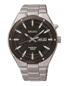 Seiko Gents Kinetic Watch SMY151P1