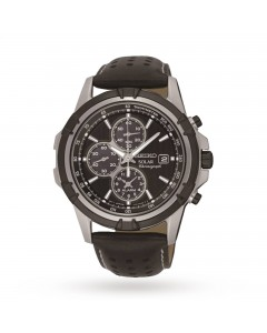 Seiko Gents Solar Chronograph Watch SSC147P2