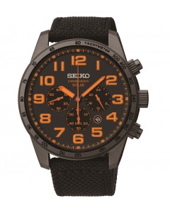 Seiko Gents Solar Chronograph Watch SSC233P9